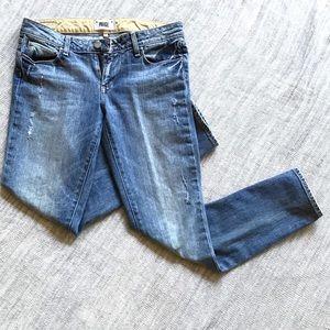 Paige skyline ankle peg jeans size 28